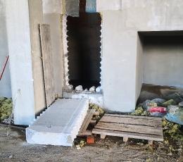 Алмазная резка проемов в бетоне рассверловкой