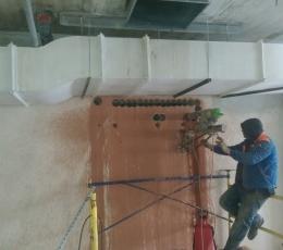 Алмазная резка стен (кирпич) лифтовой шахты для дымоудаления