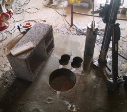 Сверление перекрытий под вентиляционные отверстия