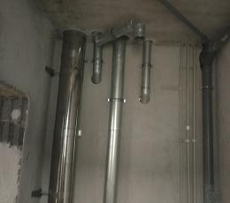 Алмазное сверление отверстий под трубы сантехники и вентиляции